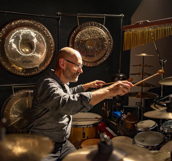 Andreas Aeppli, Schlagzeugsolo